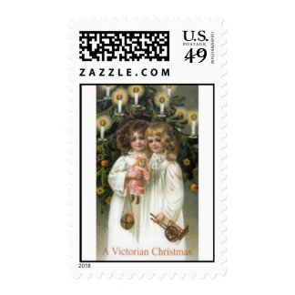 Victorian Sisters Christmas Postage Stamps