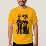 Victorian Skeleton Couple Goth Halloween Shirt