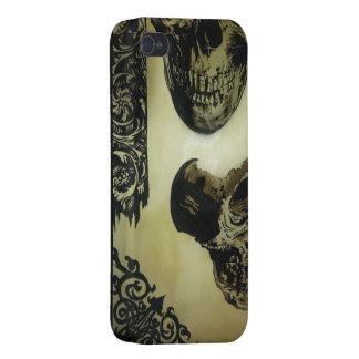 victorian skull pop iPhone 4 iPhone 4/4S Cases