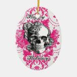Victorian Skull Products. Classic PJ. Christmas Tree Ornament