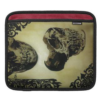 Victorian Skulls Pop iPad Sleave Sleeves For iPads