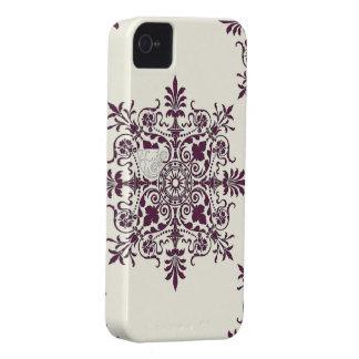 Victorian Snowflake Design IPhone 4 Case