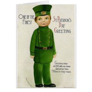 Victorian Son of Ireland St. Patrick's Day Card