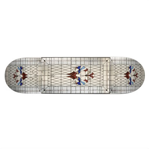 Victorian Stained Glass Skateboard