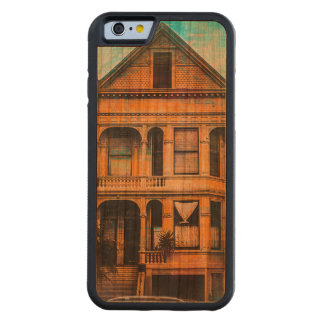 Victorian Standup for the MissionDistrict  SANFRAN Carved Cherry iPhone 6 Bumper Case