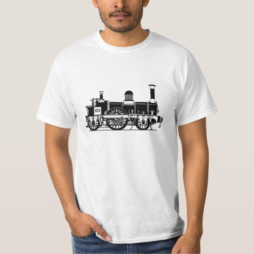 Victorian Steam Train - for the Locomotive lover T-Shirt