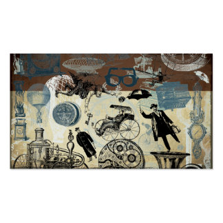 Victorian Steampunk Business Card