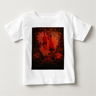 VICTORIAN STEAMPUNK LOVE COUPLE BABY T-Shirt