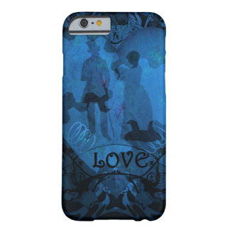 VICTORIAN STEAMPUNK LOVE COUPLE BARELY THERE iPhone 6 CASE