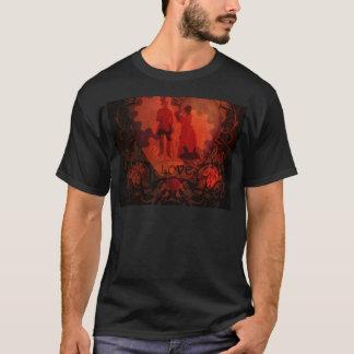 VICTORIAN STEAMPUNK LOVE COUPLE T-Shirt