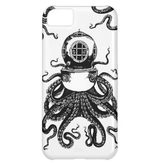 victorian Steampunk Octopus Kraken Diving Helmet! iPhone 5C Cover