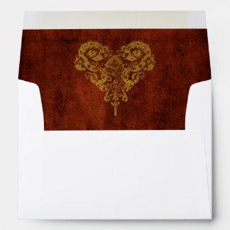 Victorian Steampunk Wedding Envelopes