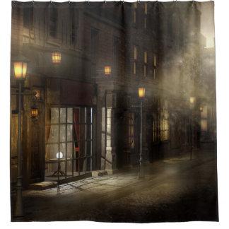 dark brown shower curtain. Victorian Street Shower Curtain Dark Brown Curtains  Zazzle