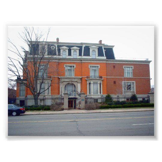 Victorian Style Architecture in Buffalo New York Photo Print