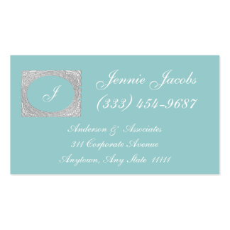 Victorian style frame with a carved appearance Double-Sided standard business cards (Pack of 100)