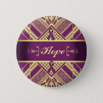 Victorian Style Pan Cancer Awareness Products. Button