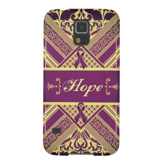 Victorian Style Pan Cancer Awareness Products. Case For Galaxy S5