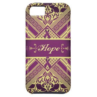 Victorian Style Pan Cancer Awareness Products. iPhone SE/5/5s Case