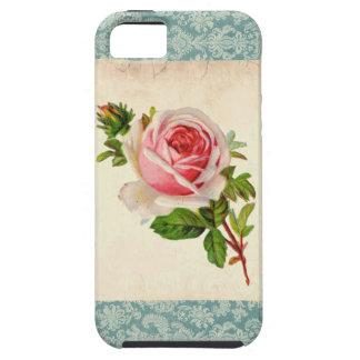 Victorian subió y damasco iPhone 5 carcasa