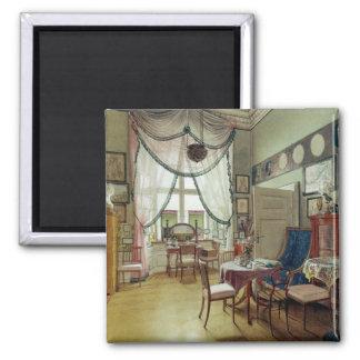 Victorian Sunroom 2 Inch Square Magnet