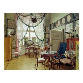 Victorian Sunroom Postcard