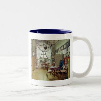 Victorian Sunroom Two-Tone Coffee Mug