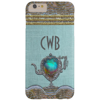 Victorian Teapot Barely There iPhone 6 Plus Case
