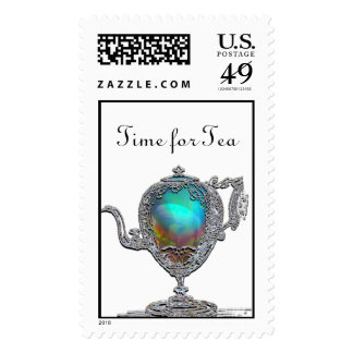 Victorian Teapot Stamps