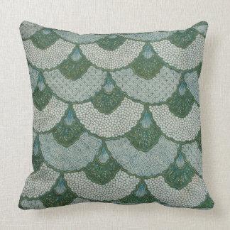 Victorian Textile Throw Pillow
