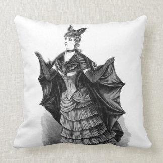 Victorian/traje gótico de Batgirl/del palo Cojín