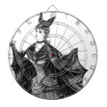 Victorian/traje gótico de Batgirl/del palo Tablero Dardos