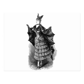 Victorian/traje gótico de Batgirl/del palo Postales