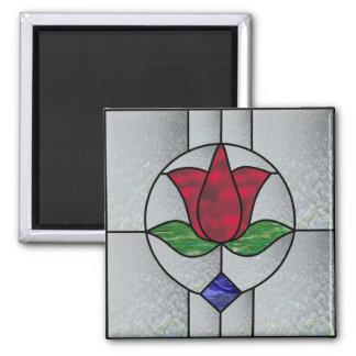 Victorian Tulip Magnet