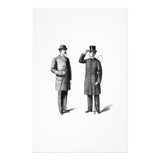 Victorian Two gentlemen Papeleria