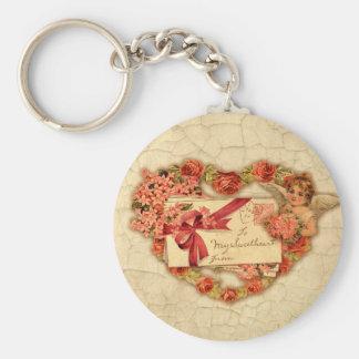 Victorian Valentine Keychain
