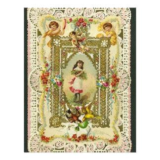 Victorian Valentine Letterhead