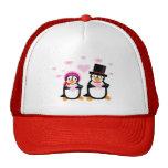 Victorian Valentine Penguins Hat