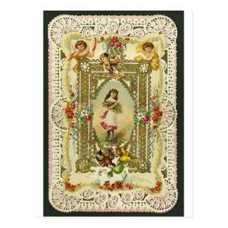 Victorian Valentine Postcards