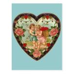 Victorian Valentine To My Love II Postcard