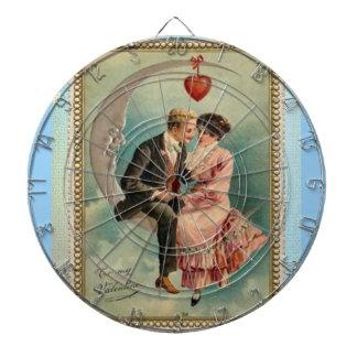 victorian valentines dartboards