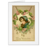 Victorian Valentine's Day Greeting Card