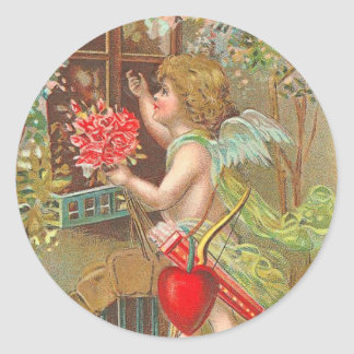 Victorian Valentine's Day Stickers