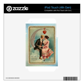 victorian valentines iPod touch 4G skins