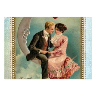 victorian valentines large business card