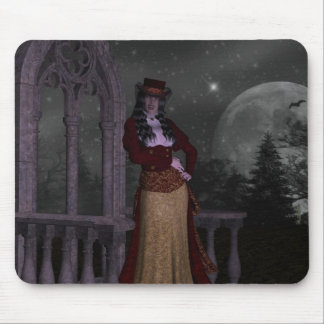 Victorian Vampire Mouse Pad