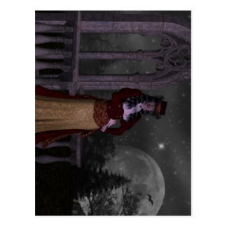 Victorian Vampire Postcard