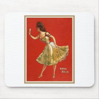 Victorian Vaudeville star Anna Held (1899) Mouse Pad