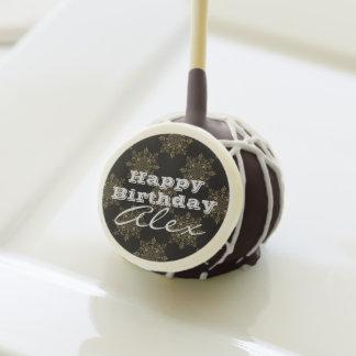 Victorian Vintage & Elegant Birthday Greeting Cake Pops