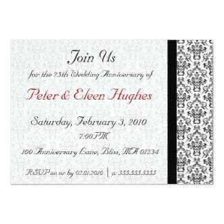 Victorian Wedding Anniversary Party Invitations