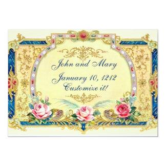 Victorian Wedding engagement anniversary Card